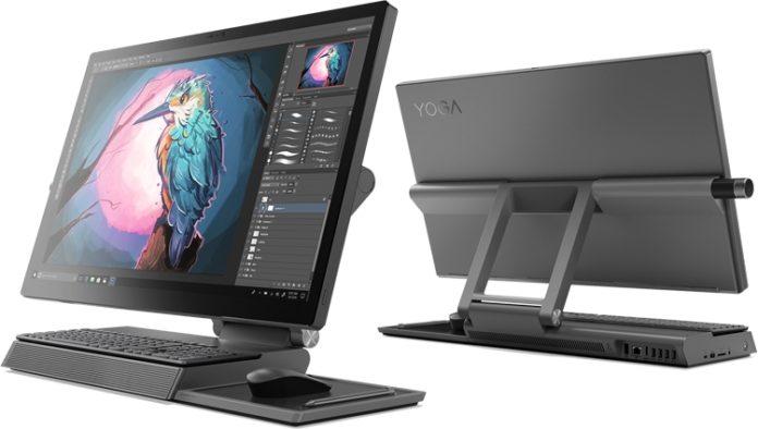 Lenovo привезла на CES 2019 уникальный компьютер-моноблок Yoga A940