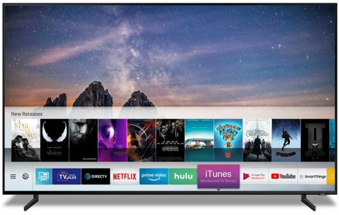 В телевизорах Samsung появятся iTunes и поддержка AirPlay2