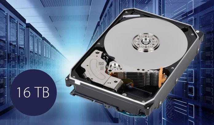 У Toshiba появился жесткий диск на 16 Тбайт
