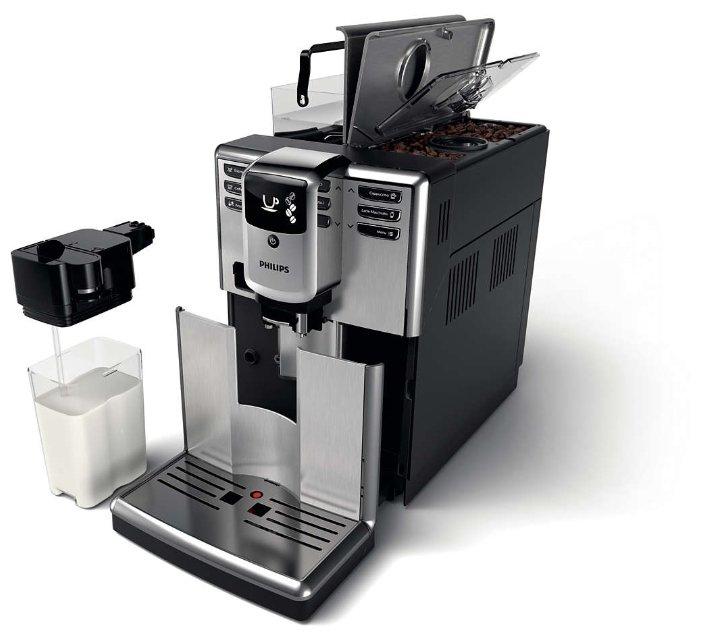 Обзор кофемашины Philips EP5365/10: просто нажмите кнопку