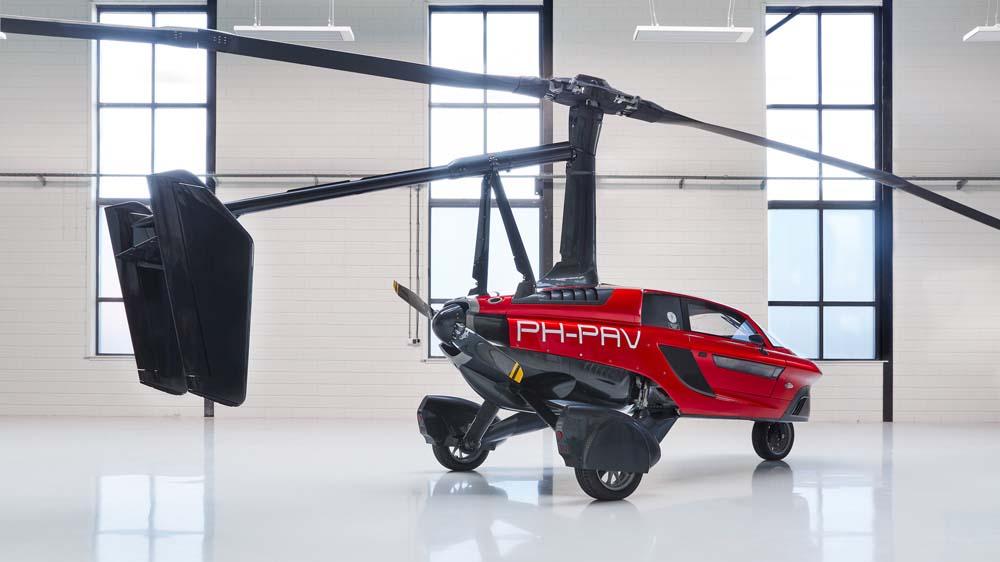 Первый серийный летающий автомобиль поступит в продажу уже в 2019-м году