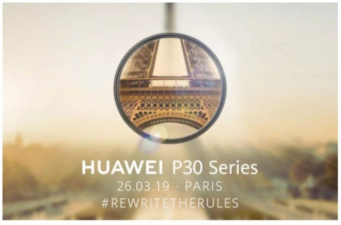 Названа официальная дата премьеры флагманских смартфонов Huawei P30 и P30 Pro