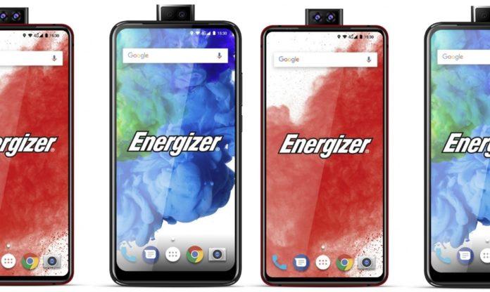Energizer готовит смартфоны с двойной выдвижной фронтальной камерой