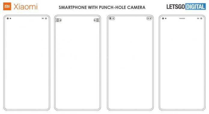 Xiaomi придумала свои необычные «дырявые» экраны
