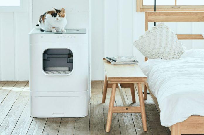LavvieBot: умный лоток для кошек с Wi-Fi