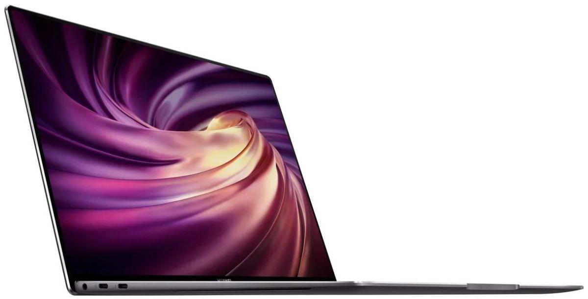 Huawei представила 3 новых ноутбука без рамок