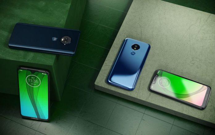 Недорогие смартфоны G7 от Motorola представлены официально