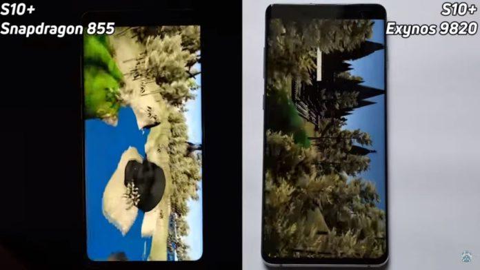 Российская версия Samsung Galaxy S10+ оказалась медленнее американской