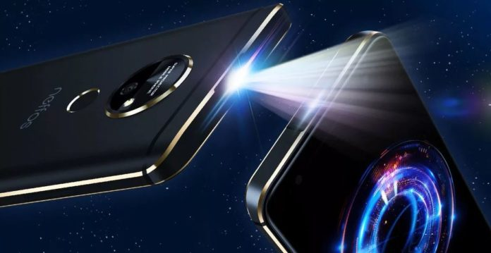 Neffos P1: как работает смартфон с проектором