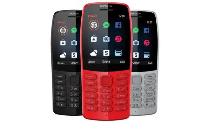 Nokia представила самый дешевый в мире телефон с интернетом