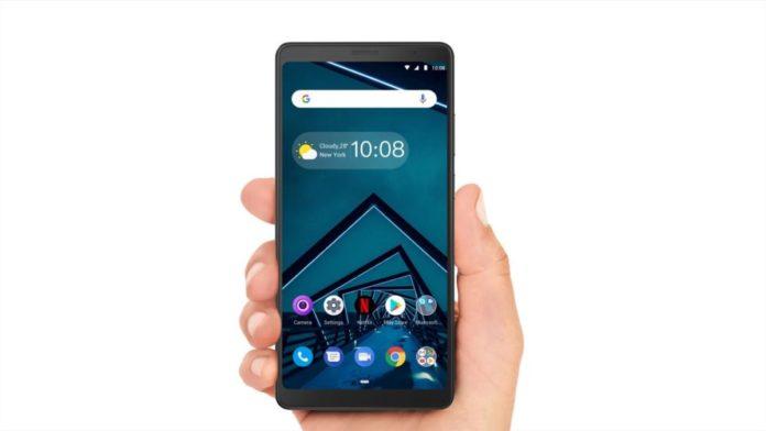 Lenovo представила большой, но сравнительно недорогой смартфон Tab V7
