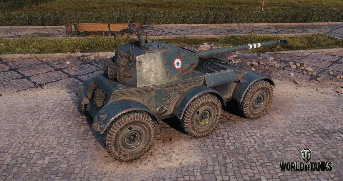 Крупное обновление World of Tanks: колесная техника