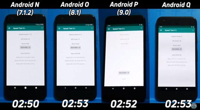 Операционная система двухлетней давности побила новейшую Android Q в тестах на скорость