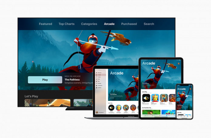 Apple запустила собственный игровой сервис Arcade