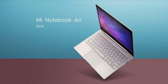 Xiaomi представила тонкий, легкий и недорогой ноутбук Mi Notebook Air 12.5 (2019)