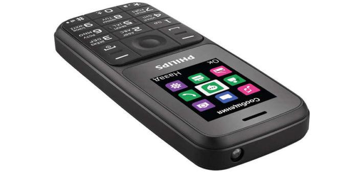 Новый телефон Philips работает на одном заряде более 2 месяцев, а стоит всего 1790 руб.