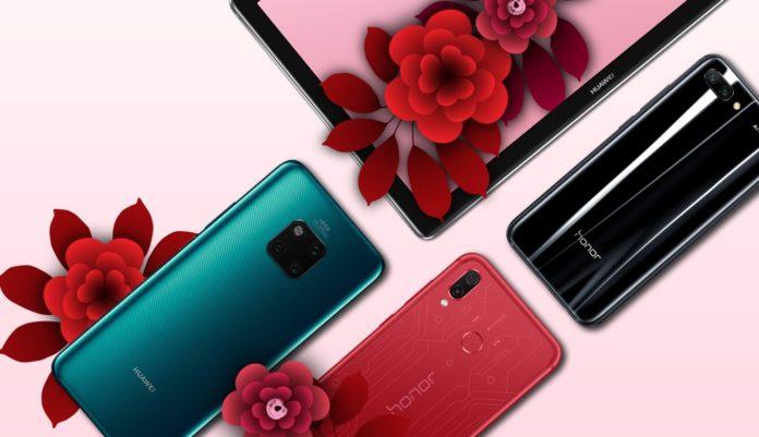 Huawei к 8 марта запустила распродажу со скидками до 17 780 руб.
