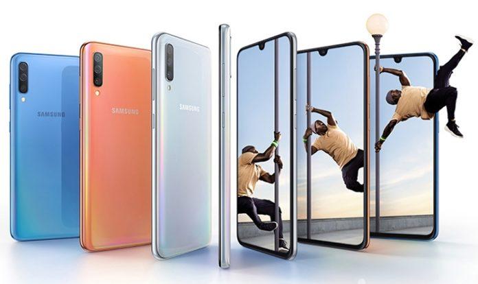 Samsung Galaxy A70 со сверхбыстрой зарядкой представлен официально