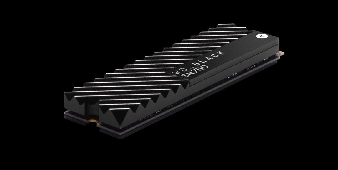 Western Digital выпустила быстрые SSD Black SN750 NVMe для игровых компьютеров