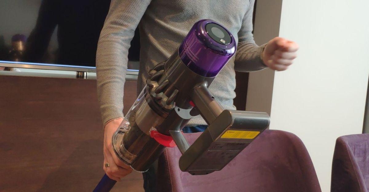 Беспроводной пылесос Dyson V11 Absolute: умный и супермощный