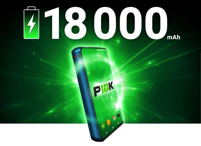 Названа цена смартфона-монстра с аккумулятором 18 000 мАч