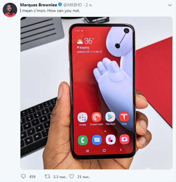Пользователи Reddit обыгрывают отверстия в дисплеях Samsung S10 | CHIP