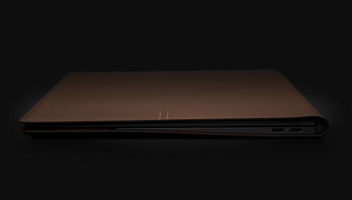 Начались продажи «кожаного» ноутбука HP Spectre Folio