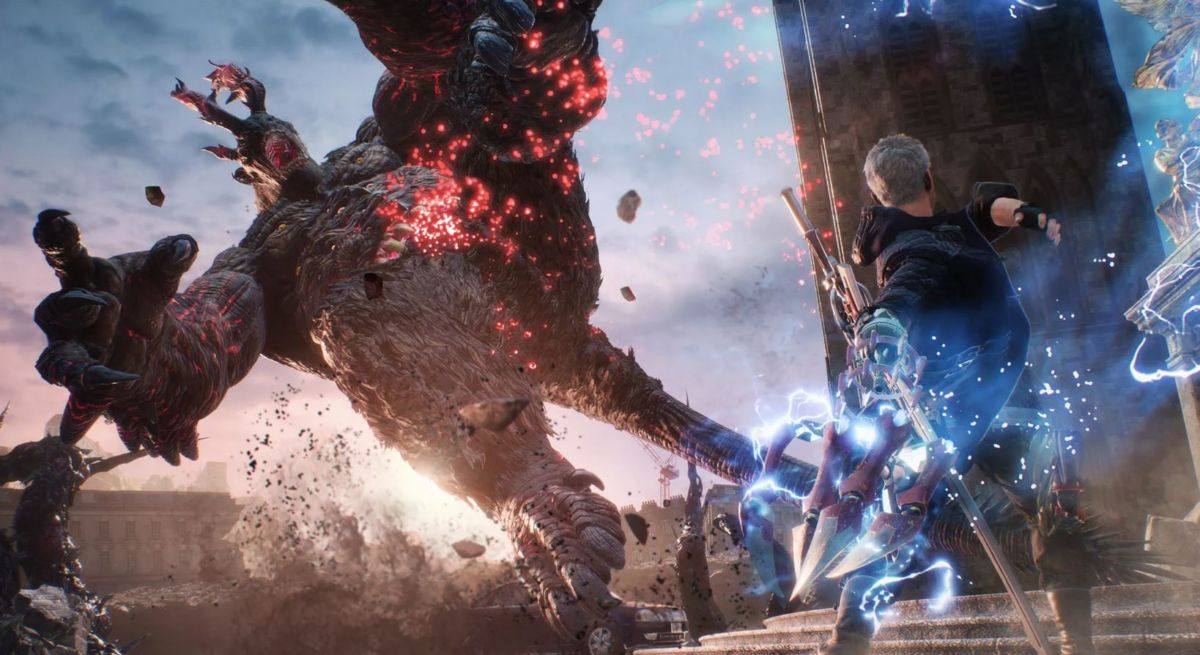 Обзор игры Devil May Cry 5: Данте сильно изменился за лето