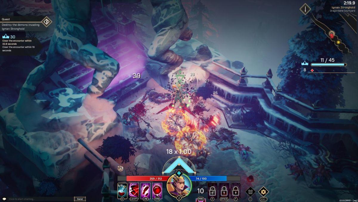 Первый обзор Pagan Online: экшен RPG с богами и нежитью