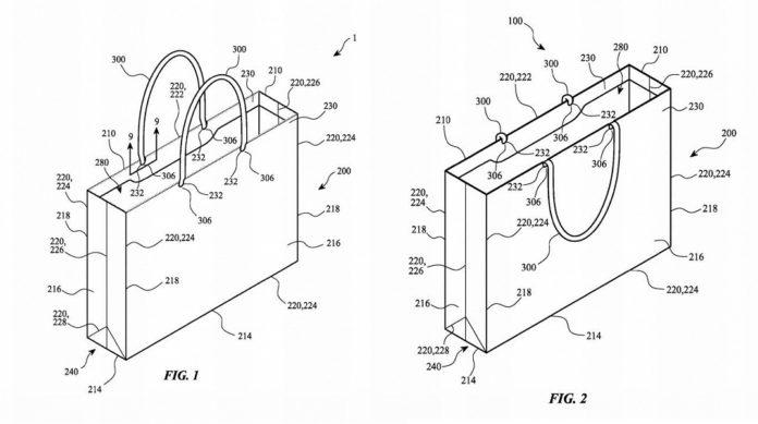 Потенциальный бестселлер: Apple запатентовала простой бумажный пакет