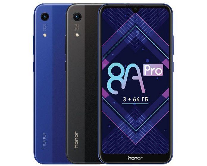 Достойный смартфон среднего уровня Honor 8A Pro оценен дешевле 14 000 руб.