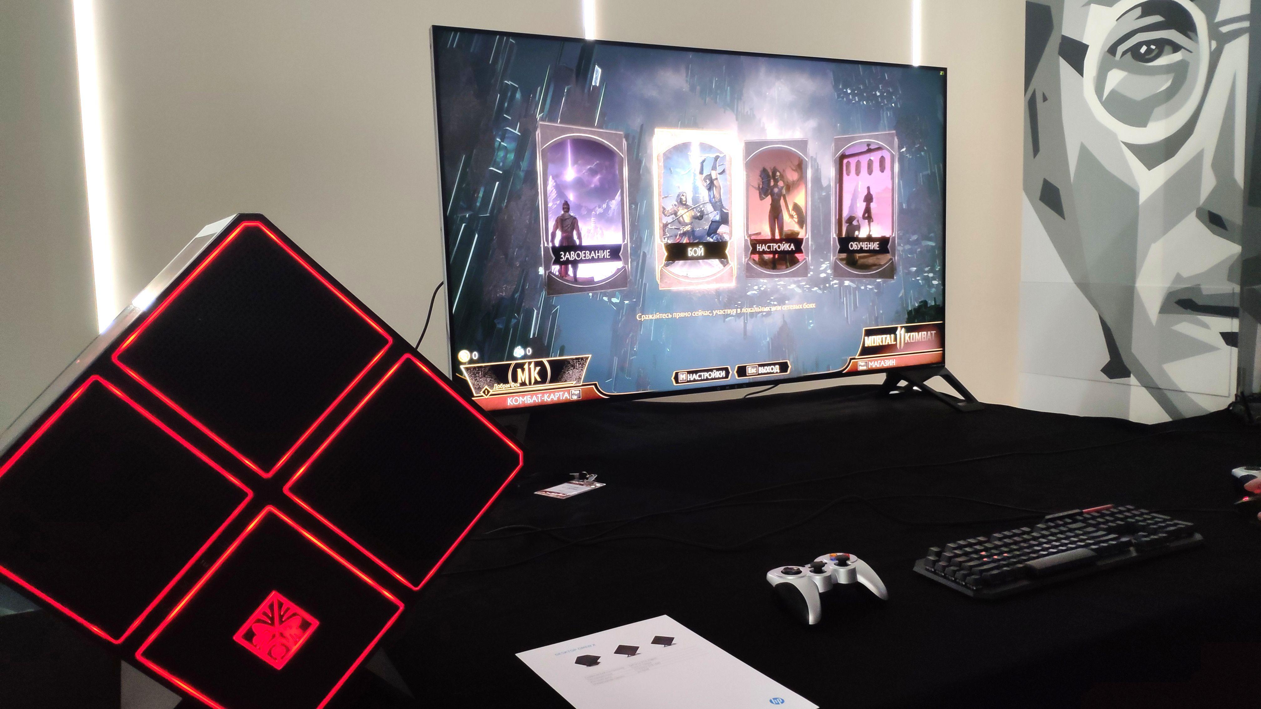 Стартовали продажи гигантского игрового монитора OMEN X Emperium 65