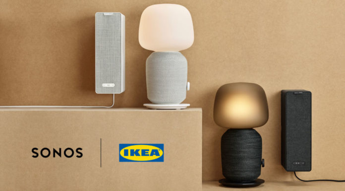 IKEA представила колонку-лампу и колонку-полку