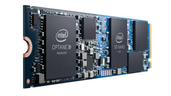 Intel представил гибридные твердотельные накопители Optane H10