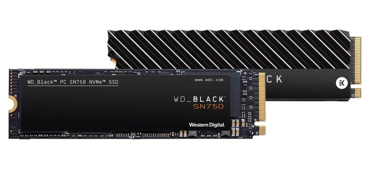 Обзор накопителя SSD Western Digital Black SN750 NVMe: создан для геймеров