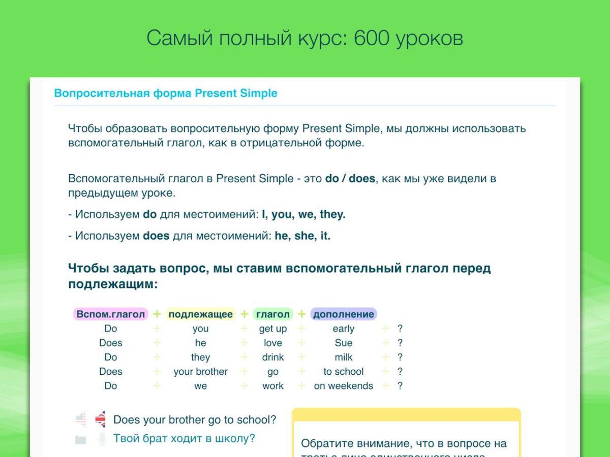 Топ-5 приложений для изучения английского языка