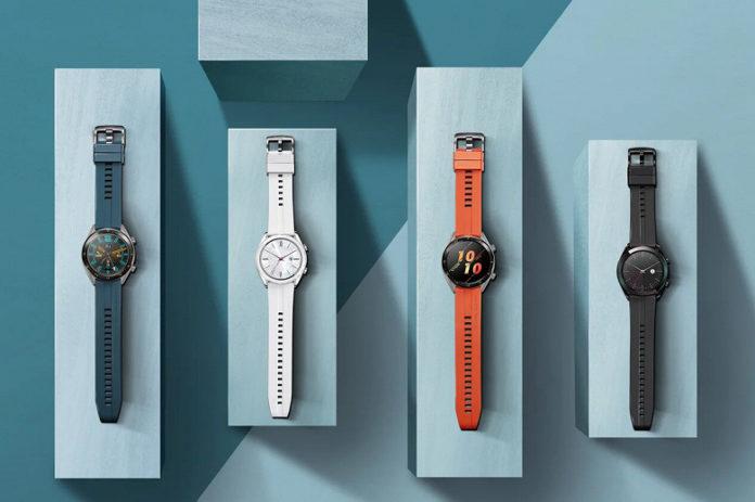 В Россию прибывают умные часы Huawei Watch GT Active и Elegant