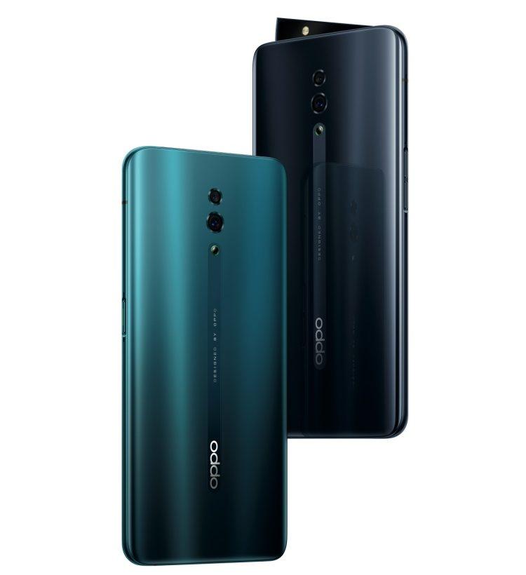 Смартфон с выдвижной камерой OPPO Reno уже в продаже