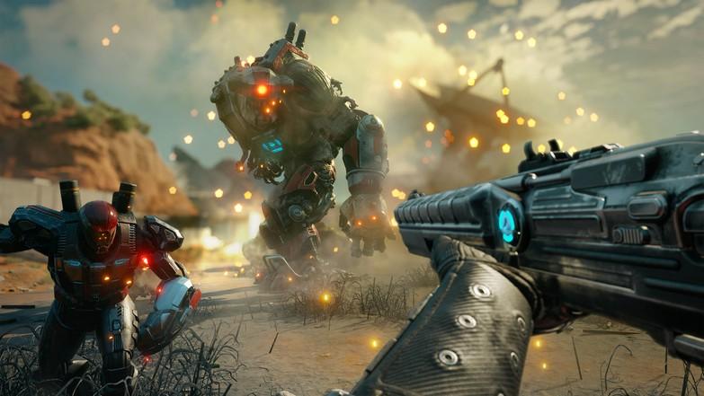 Обзор игры Rage 2: жестокая бойня в пустыне