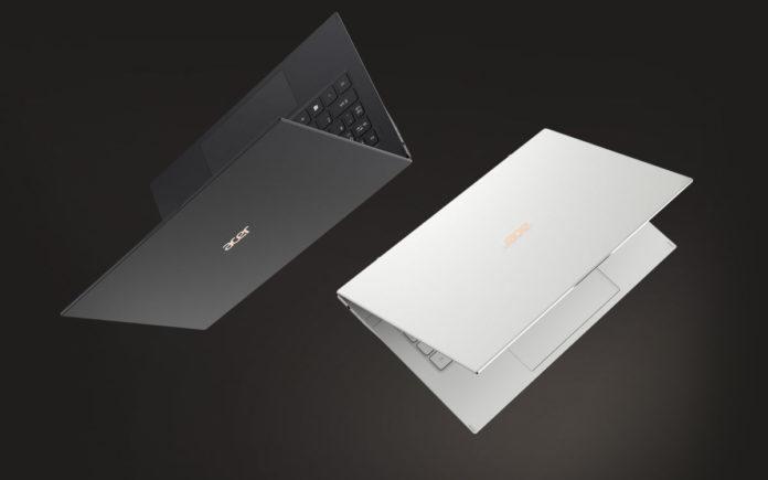 Представлен «легкий как перышко» ноутбук Acer Swift 7