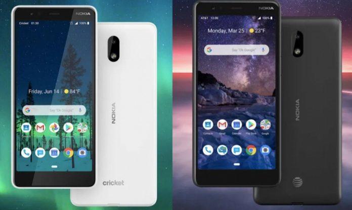 Nokia представила новые бюджетные смартфоны Nokia 3.1 A и 3.1 C