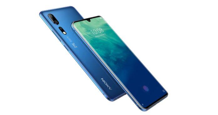 В Россию приехал мощный китайский флагманский смартфон ZTE Axon 10 Pro