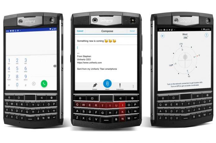 Представлен защищенный и недорогой QWERTY-смартфон с огромным аккумулятором