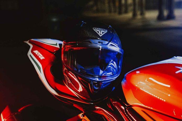 Forcite выпустила интеллектуальный мотоциклетный шлем