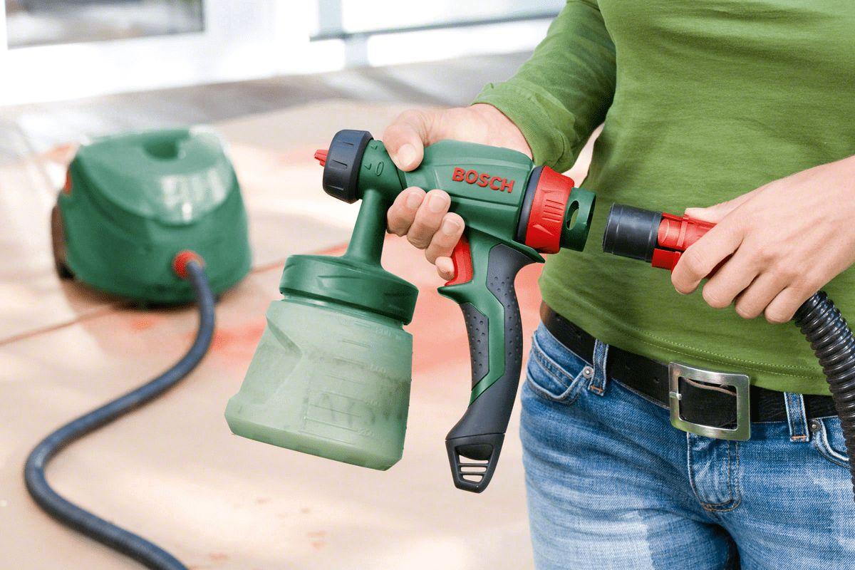 Кисточки на пенсию: какой электрический краскопульт лучше купить для дома?