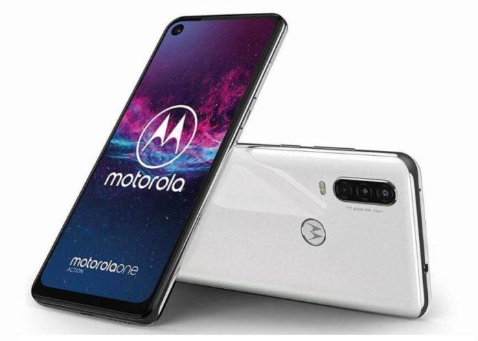 Motorola представила в России уникальный экшен-смартфон One Action