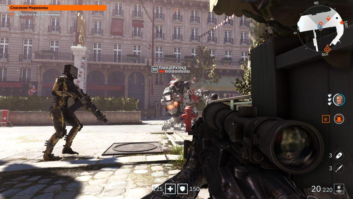 Обзор игры Wolfenstein: Youngblood - кровавая бойня в Париже