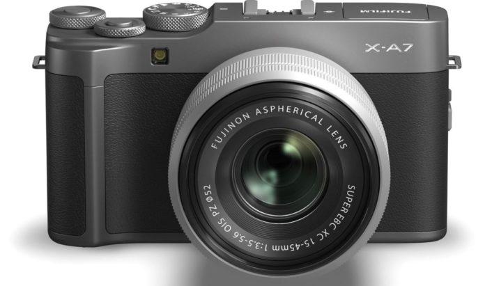 Fujifilm представила беззеркальную камеру для начинающих X-A7