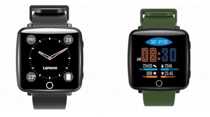 Lenovo представила недорогие умные часы Carme