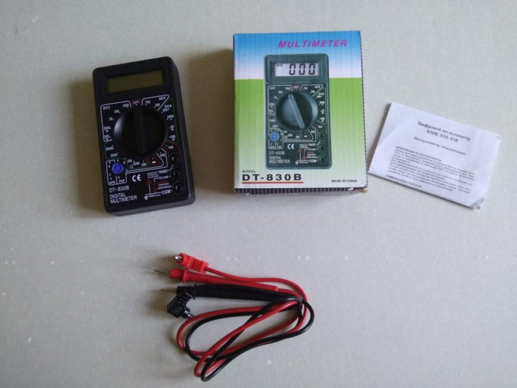 Брать или нет: обзор мультиметра DT-830B за 250 рублей